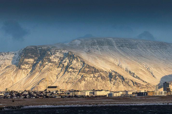 Reykjavík frá Álftanesi.