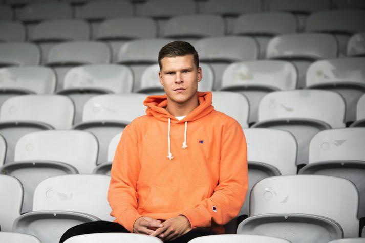 Björgvin Stefánsson, leikmaður KR, var dæmdur í bann fyrir ummæli í lýsingu á netútsendingu Hauka TV.