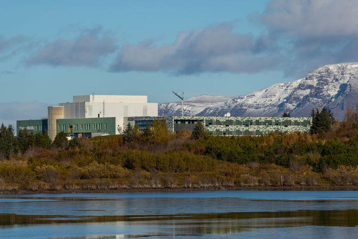 Höfuðstöðvar Morgunblaðsins eru í Hádegismóum.