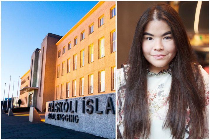 Isabel Alejandra Diaz, forseti Stúdentaráðs Háskóla Íslands.
