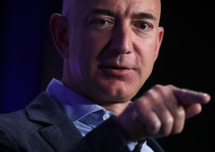 Jeff Bezos, stofnandi Amazon.