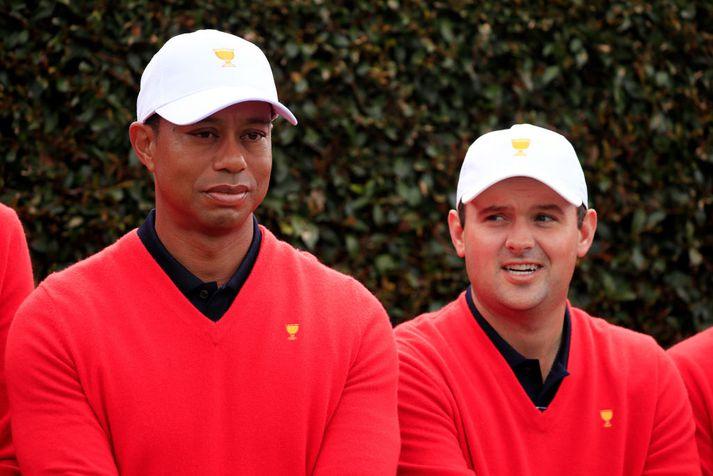 Reed og Tiger í Ástralíu.