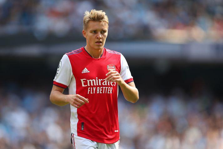 Martin Ødegaard er einn þeirra sem Arsenal keypti í sumar.