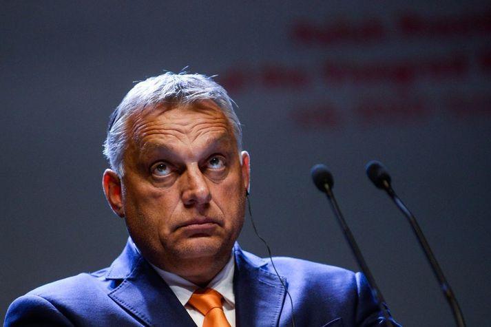 Viktor Orban hefur gegnt embætti forsætisráðherra Ungverjalands frá árinu 2010.