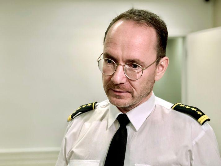 Páll Winkel, fangelsismálastjóri.