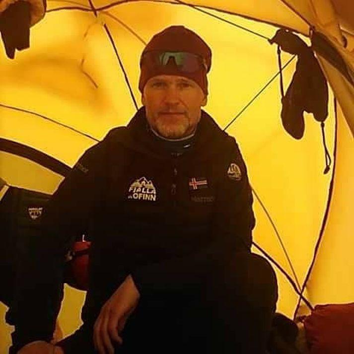 John Snorri ætlar að verða fyrsti maðurinn til að klífa tind K2 að vetrarlagi.