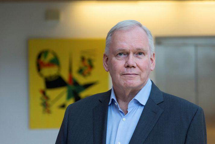 Hannes Hólmsteinn Gissurarson, prófessor í stjórnmálafræði.