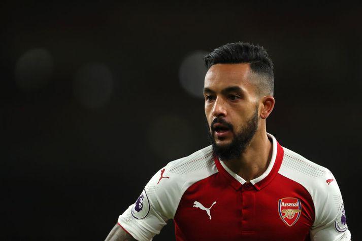 Walcott í leik með Arsenal.