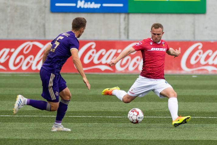Valur tapaði fyrir Maribor, 5-0 samanlagt, í 1. umferð forkeppni Meistaradeildar Evrópu.
