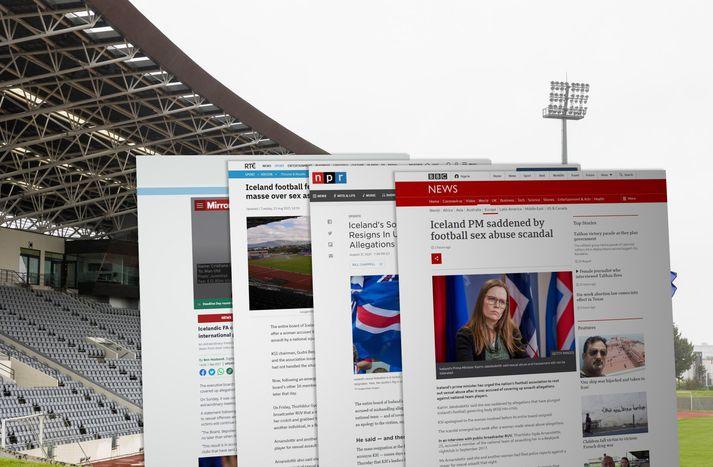 BBC er á meðal þeirra fjölmiðla sem fjalla um málið í dag.