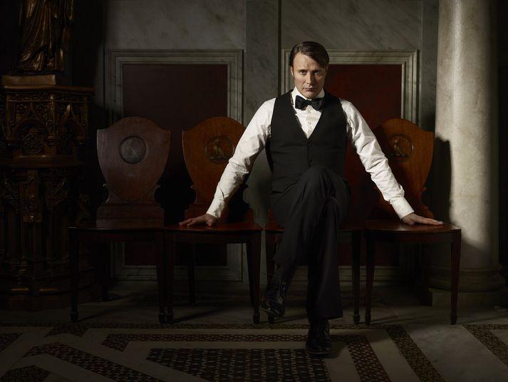 Mads Mikkelsen í hlutverki Hannibal Lecter.