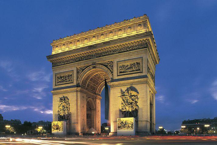 Sigurboginn er eitt helsta kennileiti Parísar