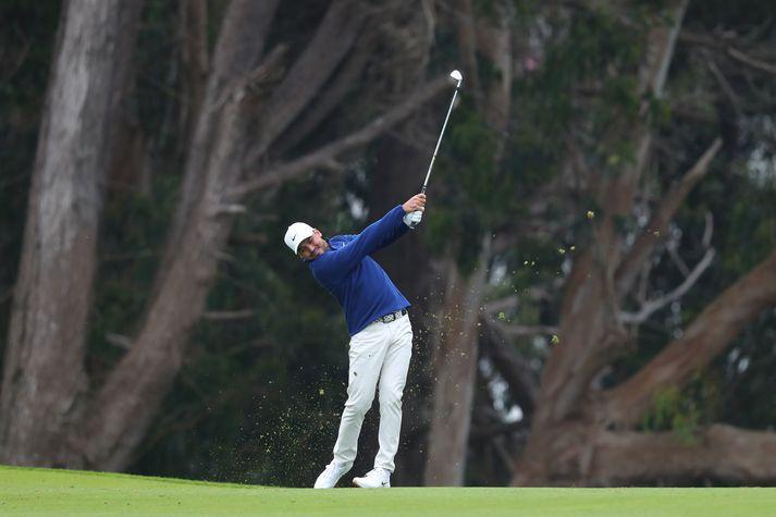 Jason Day er efstur að loknum fyrsta hring á PGA-meistaramótinu í golfi.