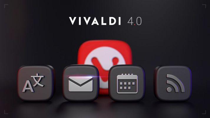 Vivaldi 4.0 er ný uppfærsla af íslensk norska vafranum Vivaldi.