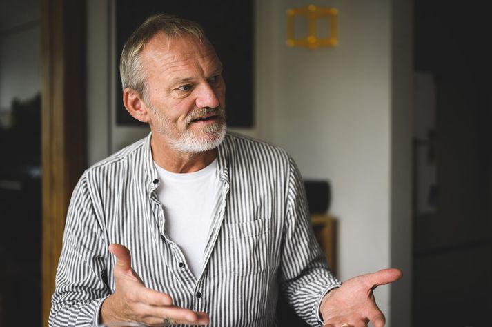 Ingvar E. Sigurðsson leikari.