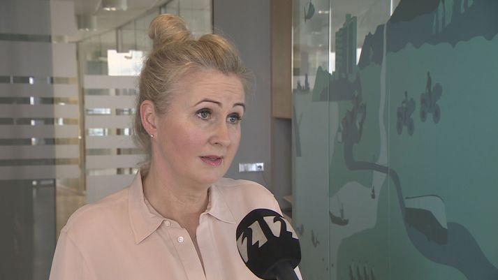 Helga Árnadóttir, framkvæmdastjóri Samtaka ferðaþjónustunnar.