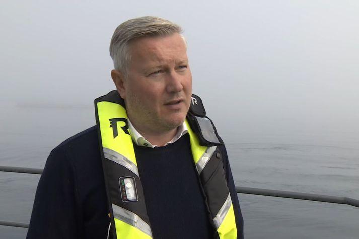 Jens Garðar Helgason, framkvæmdastjóri Laxa fiskeldis ehf.