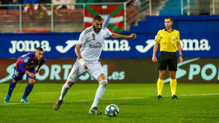 Benzema hefur verið heitur með Real Madrid að undanförnu