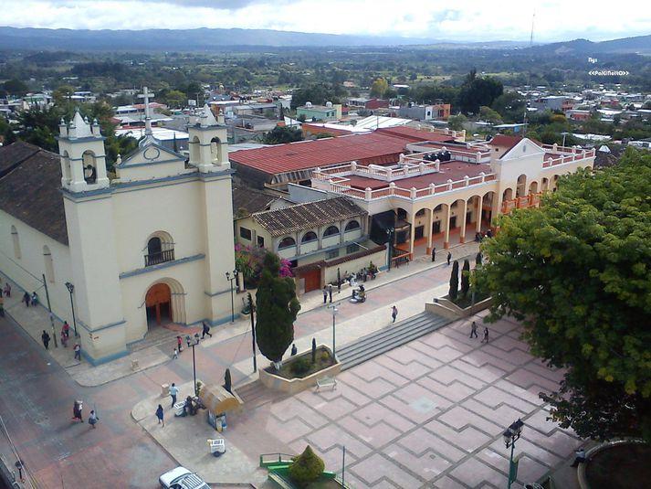 Frá Las Margaritas í Chiapas-héraði Mexíkó.