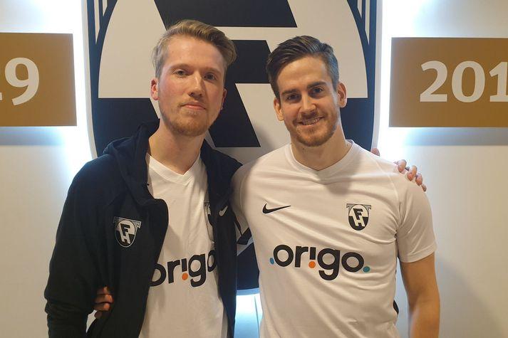 Magnús Árni Magnússon og Einar Ragnarsson eru klárir í slaginn um helgina.