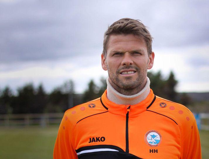Hermann hefur stýrt Þrótti Vogum frá árinu 2020.