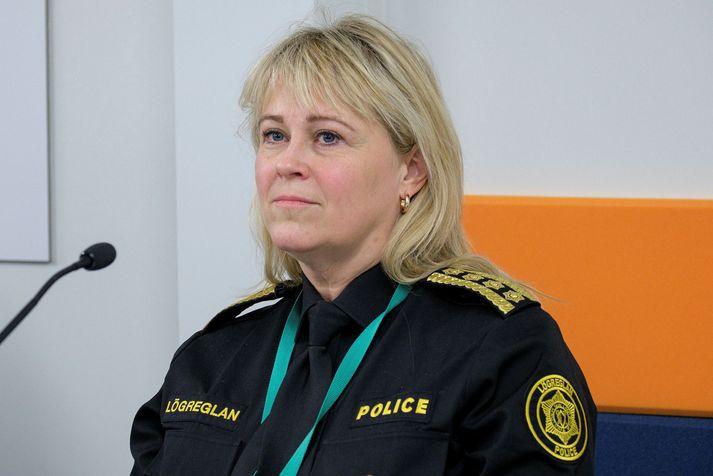 Sigríður Björk Guðjónsdóttir er ríkislögreglustjóri.