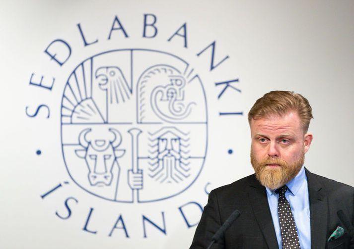 Ásgeir Jónsson seðlabankastjóri og aðrir í peningastefnunefnd ráða ráðum sínum í vikunni.