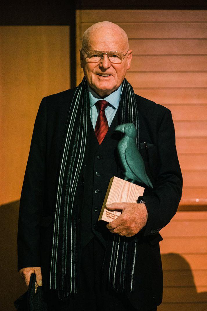 Ómar valdi að hætta sem fréttamaður 67 ára og gerast aðgerðasinni.