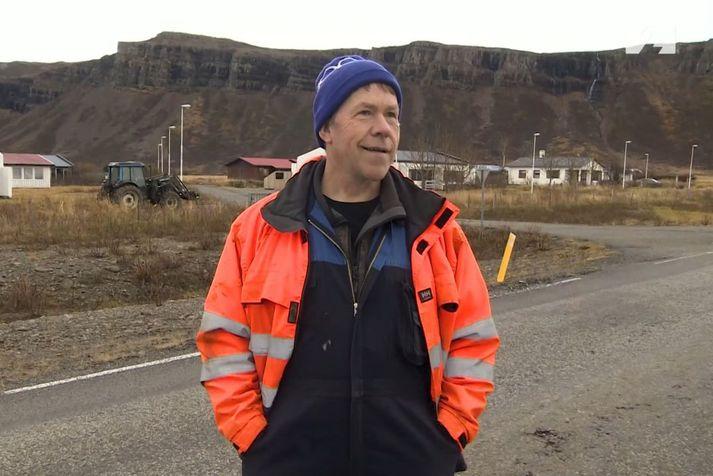 Þórður Sveinsson, sauðfjárbóndi í Skálholti á Krossholtum á Barðaströnd.