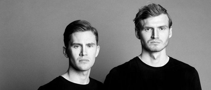 Einar Lövdahl Gunnlaugsson og Egill Jónsson skipa dúóið LØV & LJÓN.