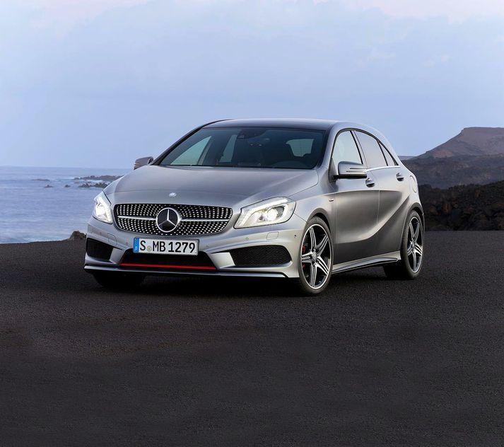 Daimler AG er framleiðandi Mercedes bíla, meðal annarra.
