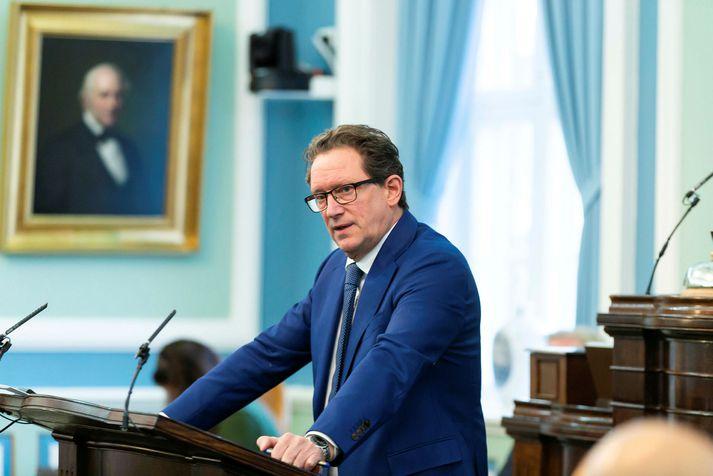 Kristján Þór Júlíusson, sjávarútvegs- og landbúnaðarráðherra.