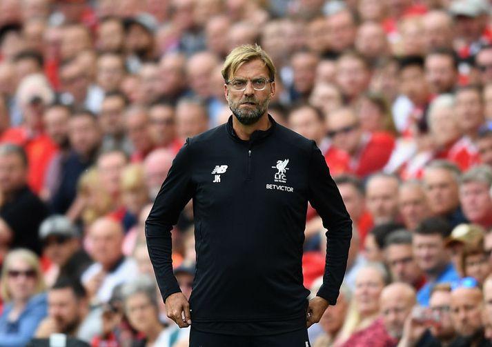 Jürgen Klopp er á sínu þriðja tímabili hjá Liverpool.