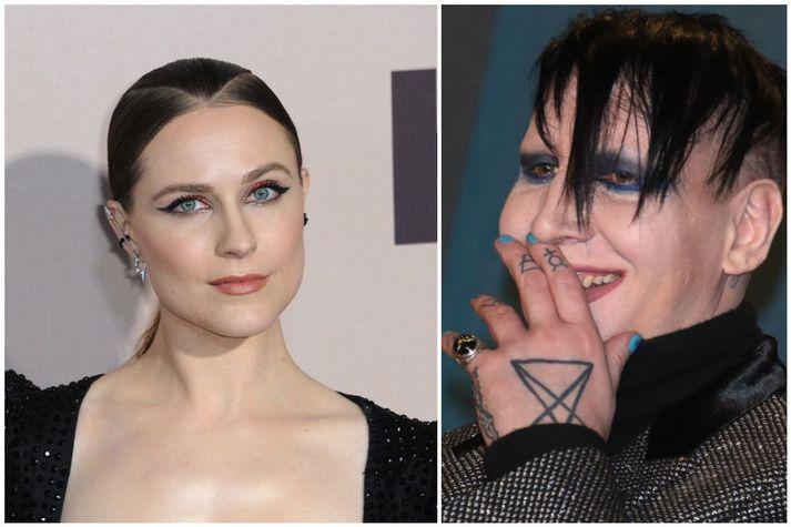 Fimm konur, þar á meðal Evan Rachel Wood, hafa stigið fram og sakað Manson um gróft ofbeldi.
