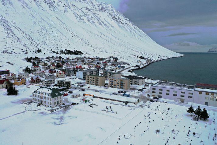 Maðurinn var stöðvaður í síðustu viku þar sem hann ók um Ísafjörð.