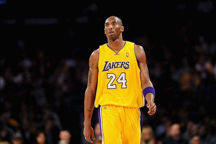 Kobe Bryant lést í þyrluslysi í Los Angeles á sunnudagsmorgun. Dóttir hans, Gianna Bryant, lést einnig í slysinu, sem og sjö aðrir.