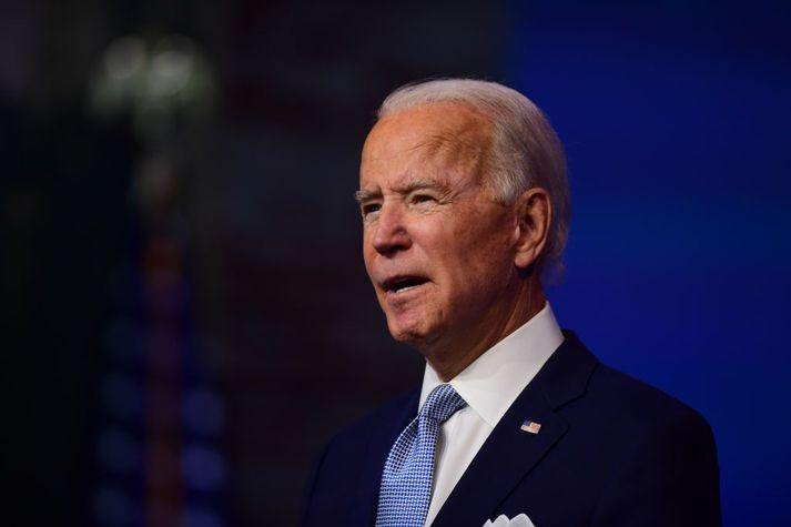 Joe Biden, sem tekur við embætti Bandaríkjanna þann 20. janúar næstkomandi, hefur lýst yfir áhuga um að endurvekja kjarnorkusamninginn við Íran.
