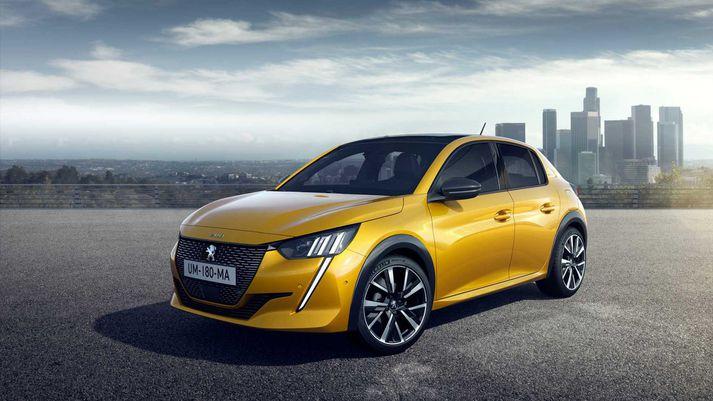 Peugeot verður væntanlega til sölu í Bandaríkjunum fyrir 2026.