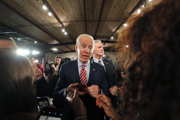 Joe Biden tekur við embætti forseta Bandaríkjanna þann 20. janúar.