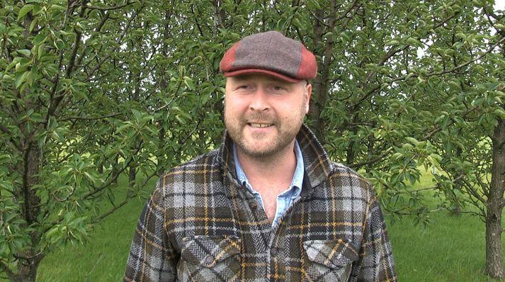 Anton Kári Halldórsson, formaður sameiningarnefndarinnar en hann er jafnframt oddviti Rangárþings eystra.