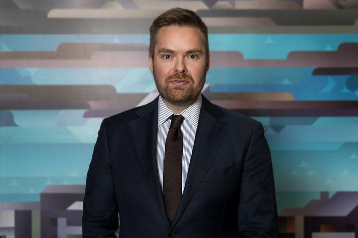 Sigurður Kári er 35 ára.