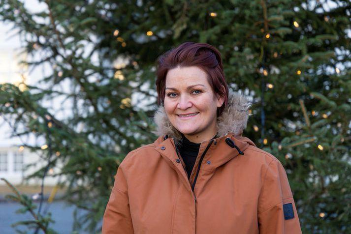 Hera Björk varð fyrir nauðgun aðeins 12 ára.