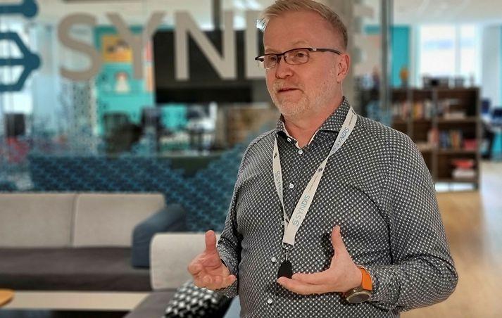 Valdimar Óskarsson, framkvæmdastjóri Syndis.