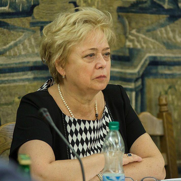 Małgorzata Gersdorf, forseti Hæstaréttar Póllands.