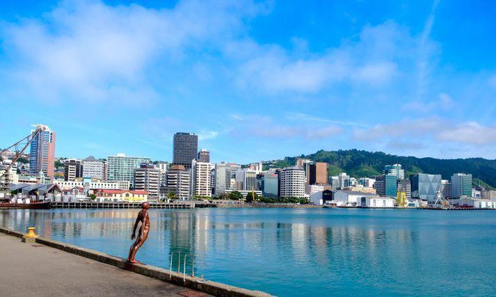 Wellington, höfuðborg Nýja Sjálands.
