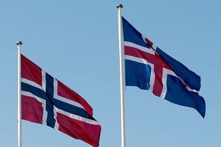 Íslendingar fá bóluefni frá Norðmönnum að láni.