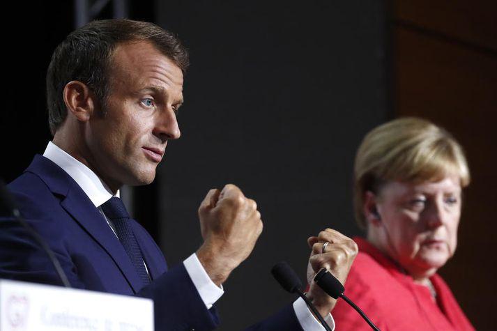 Emmanuel Macron Frakklandsforseti tjáði fréttamönnum á fundi G7-ríkjanna í gær að samningurinn muni fela í sér tæknilega og fjárhagslega aðstoð.