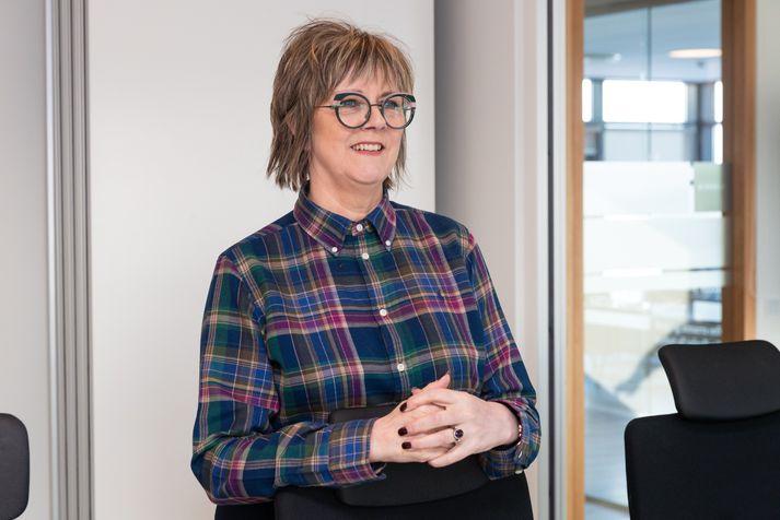 Bryndís Hlöðversdóttir, ríkissáttasemjari.