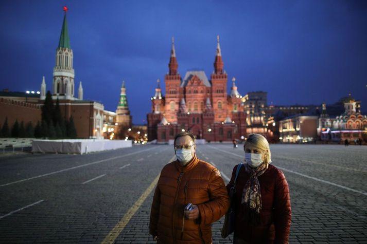 Alls telja íbúar Moskvu um 12,7 milljónir.