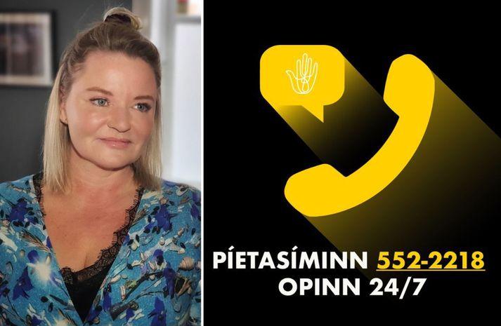 Kristín Ólafsdóttir er framkvæmdastjóri Píetasamtakanna.